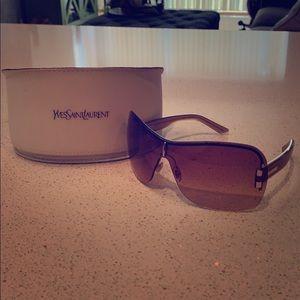 Yves Saint Laurent Large Frame Sunglasses
